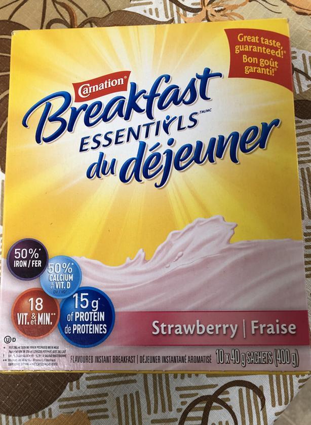 FREE: Carnation Breakfast Essentials Instant - Strawberry