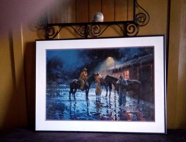 Robert Summers, Luck of the Draw, Western Print