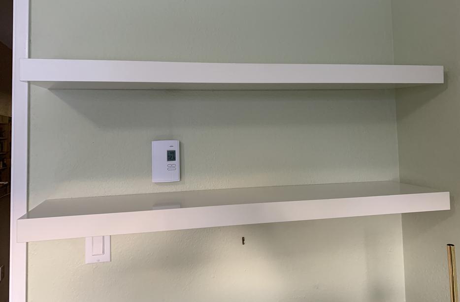Floating Shelves 2 x White IKEA