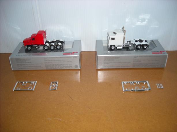 New Promotex HO 1:87 Tractor Trucks
