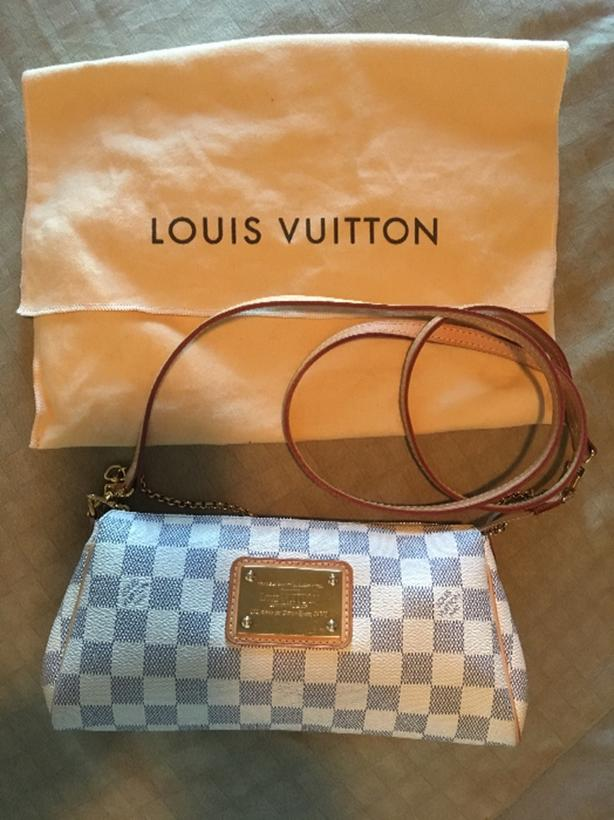 *Authentic* Louis Vuitton Damier Azur Eva