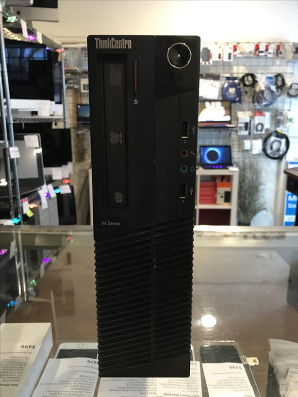 Lenovo ThinkCentre 2.6GHz Dual 8GB RAM 120GB SSD PC SFF Tower w/ Warranty!