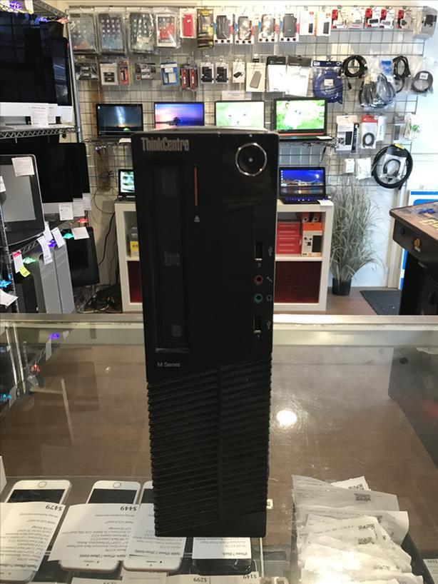 Lenovo ThinkCentre 3.3GHz Dual 8GB RAM 120GB SSD PC SFF Tower w/ Warranty!