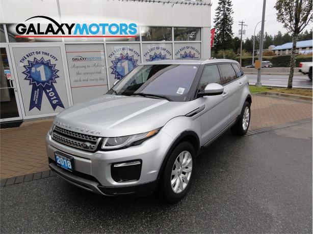 2018 Land Rover Range Rover Evoque SE- AC Front Seats 4WD NAV Sunroof