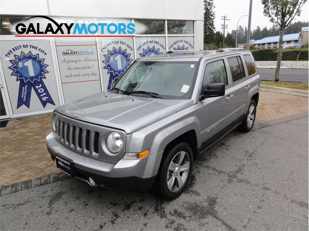 2017 Jeep Patriot HIGH ALTITUDE EDITION Heated Seats, Sunroof, Leather