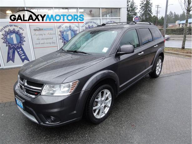2016 Dodge Journey R/T Bluetooth, Heated Seats, Leather