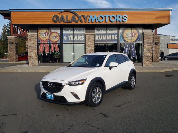2016 Mazda CX-3 - All Wheel Drive, Navigation, Back-Up Camera GX