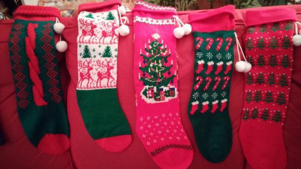 Vintage Knit Stockings