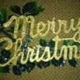 """Vintage """"Merry Christmas"""" sign"""