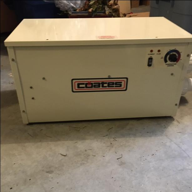 Coates Pool Heater
