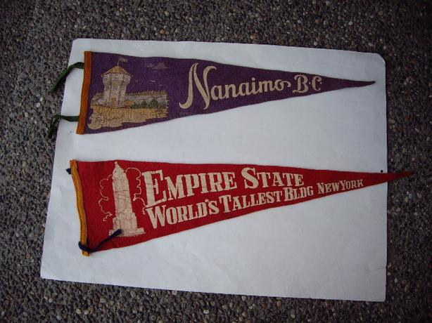 40'S PENNANTS #4. NANAIMOBC.   EMPIRE STATE