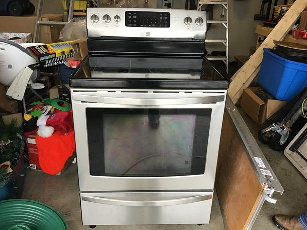 """Kenmore 30"""" convection glass top"""