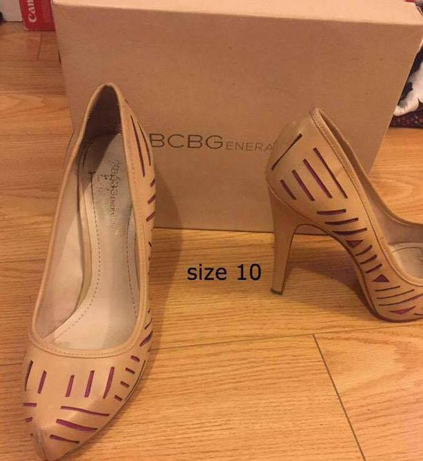 women heels/boots/sandal size 10 $85 for 4 shoes