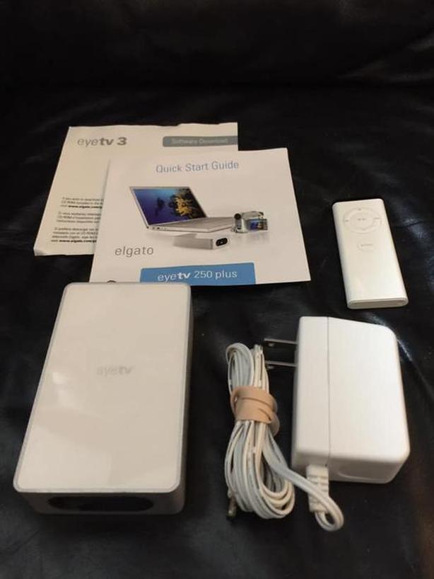 Elgato Eye TV 250 converter/receiver for Mac