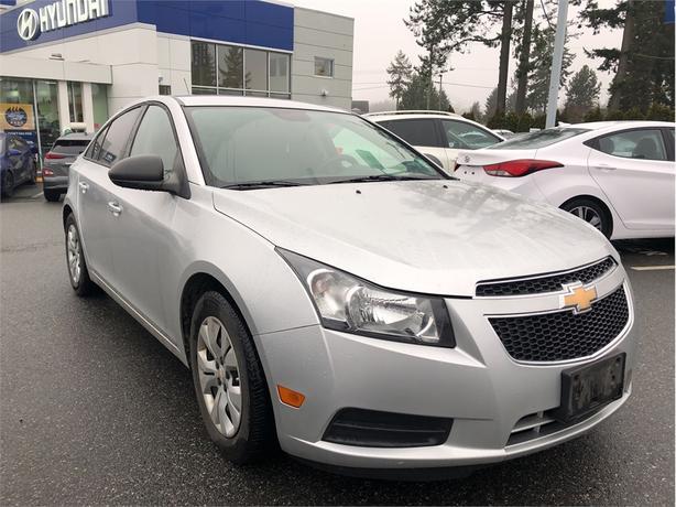 2013 Chevrolet Cruze LS  - OnStar -  Power Windows - $31.17 /Wk