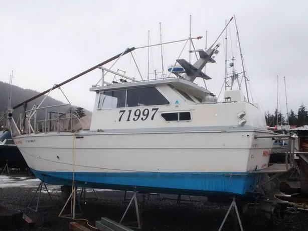 Pacific Boats Gillnetter For Sale - Nitty Gritty
