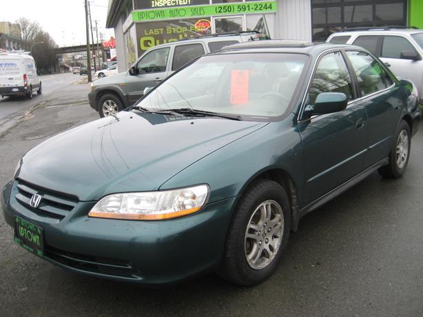 "2002 Honda Accord ""SE"" 1-owner dealer serviced NO ACCIDENTS"