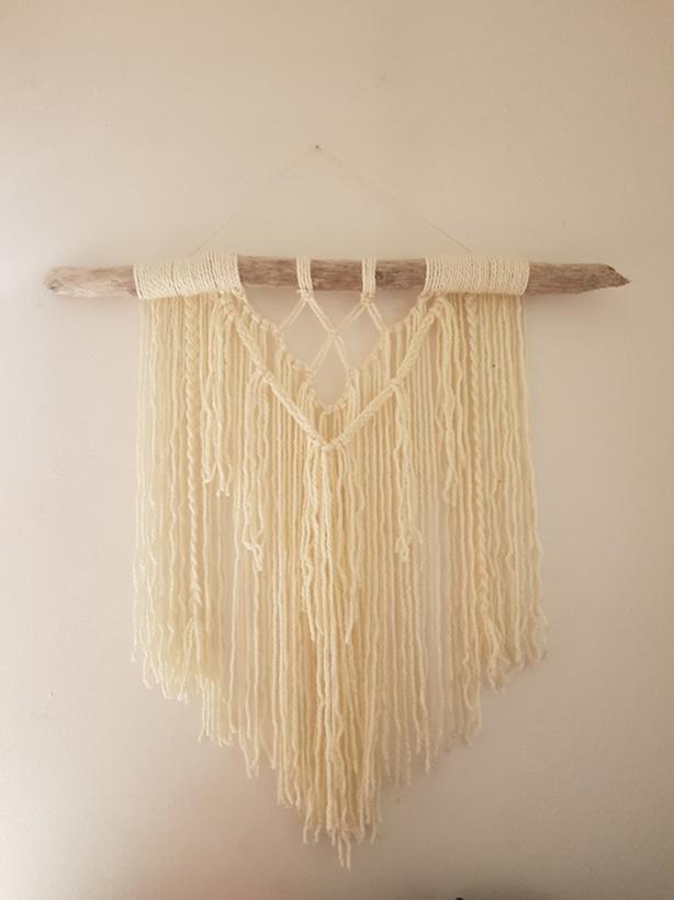 Driftwood Yarn Wallpiece