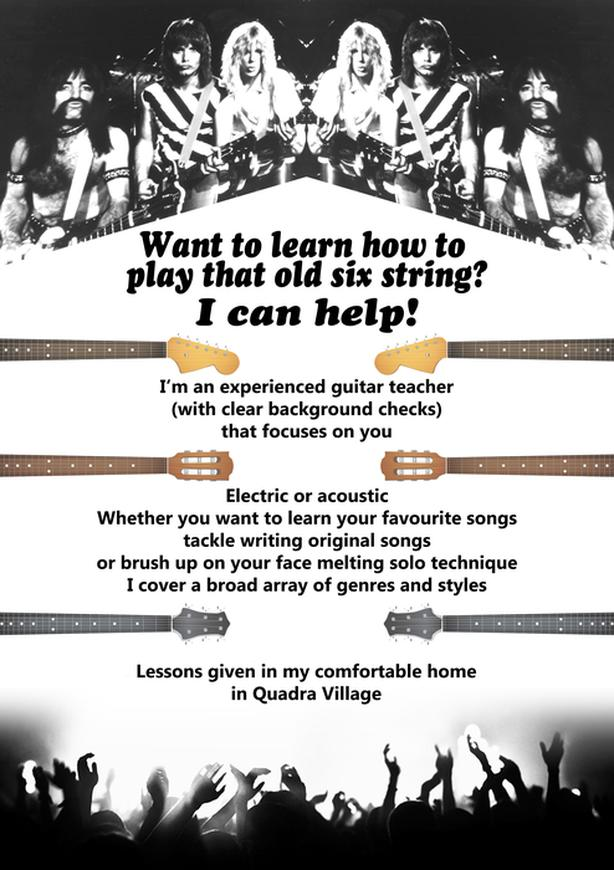 Guitar Lessons | All Levels & Ages