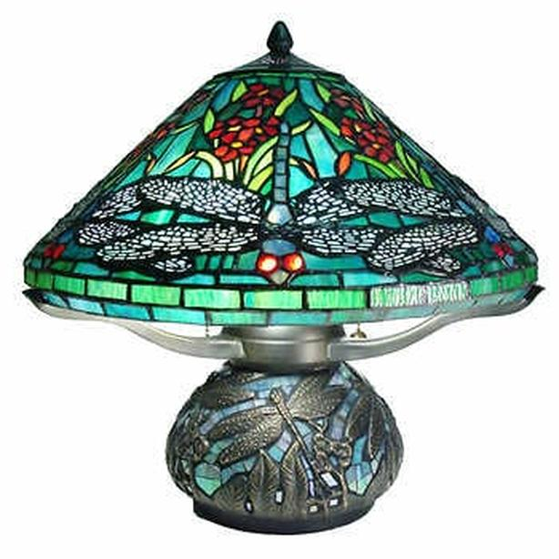 WANTED:Dragonfly lampshade stained glass lamp
