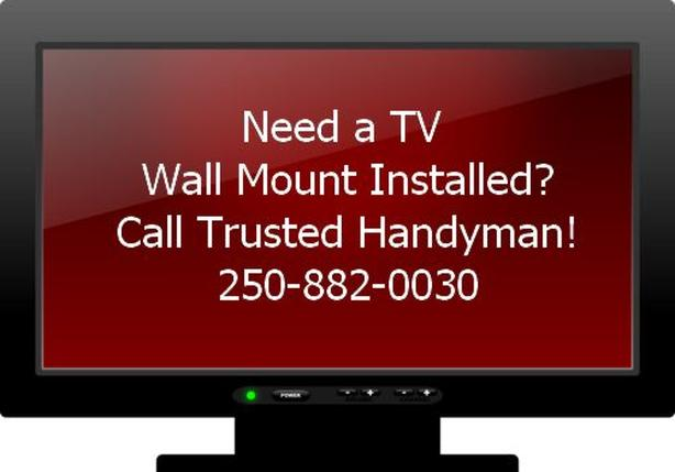 Westshore Victoria - TV Wall Mount Installation - Trusted Handyman