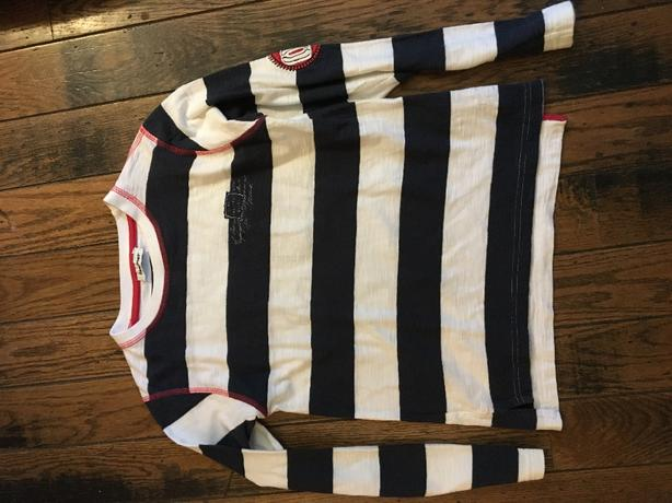 boys striped shirt from 3 pommes size 10