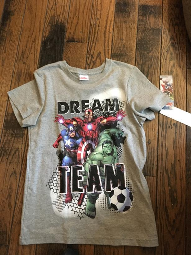 new avengers Tshirt age 9-10