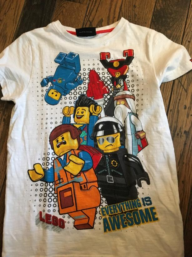 lego Tshirt size 10 years