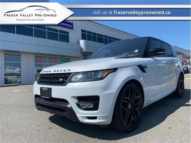 2016 Land Rover Range Rover Sport Autobigraphy  - $486 B/W