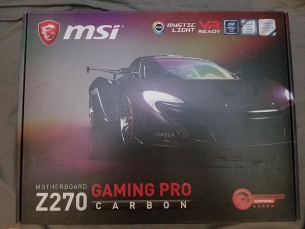 MSI Z270 Gaming Pro Carbon Motherboard