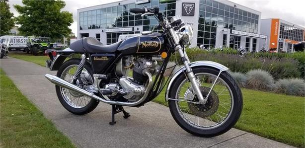 1974 Norton® 750 COMMANDO