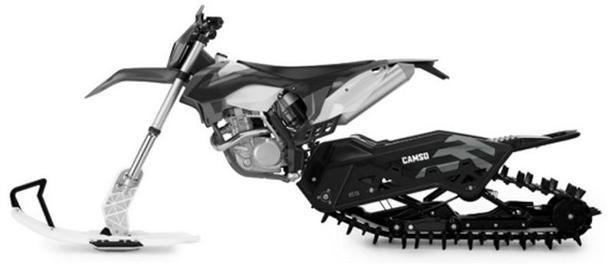 2017 Sherco 450 SEF-R Camso Snow Bike