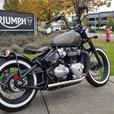 2018 Triumph Bonneville Bobber Ironstone
