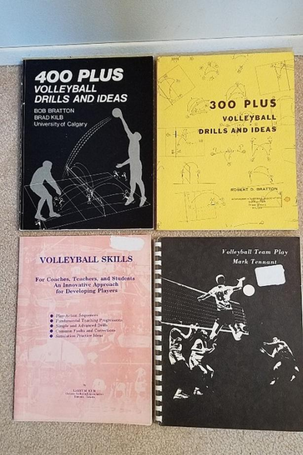 Volleyball Drills and Team Play Books