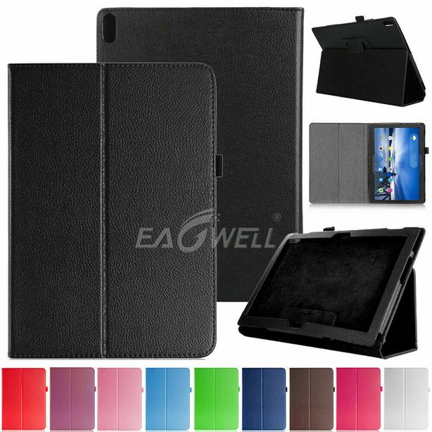 Folio Flip Leather Stand Case for Lenovo Tab E10