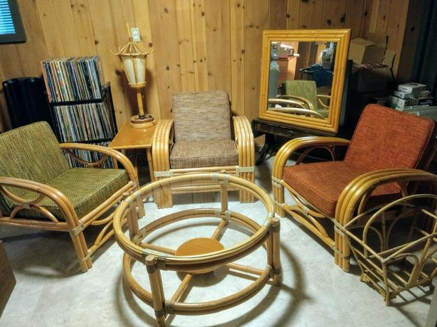 Bamboo/Cane Furniture Collection