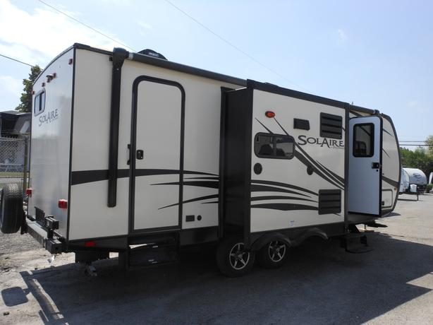2016 Palomino Solaire 239DSBH Travel Trailer