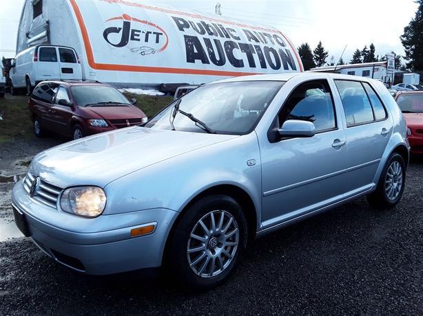 2006 Volkswagen Golf GLS TDI Diesel Unit Selling at Auction!