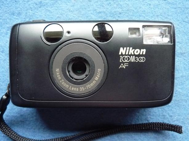 Nikon Zoom 300 AF 35mm film point and shoot camera