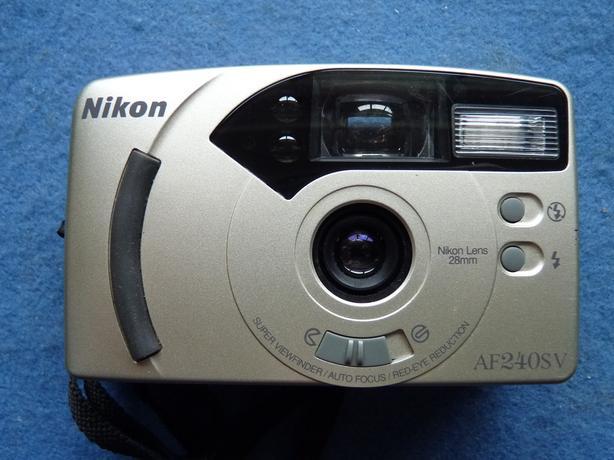 Nikon AF240SV 35mm film point and shoot camera