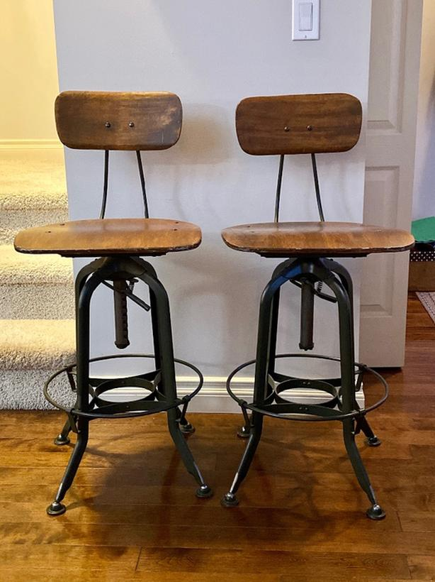 Vintage Style Bar Stools for Sale