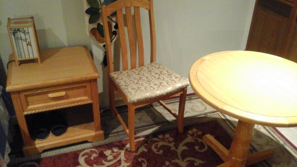 Chair, Table
