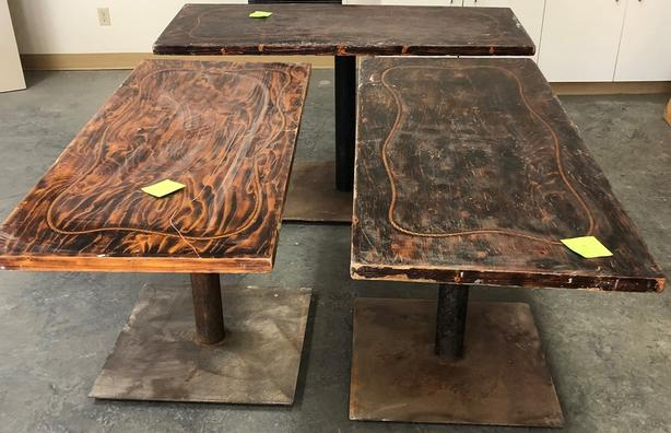 6 Tables - Unreserved Online Auction