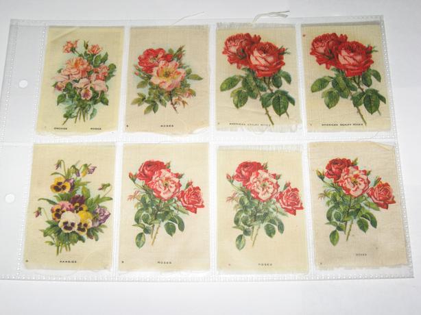 Flower silks Circa 1908 quilting quilt badge  $3 each