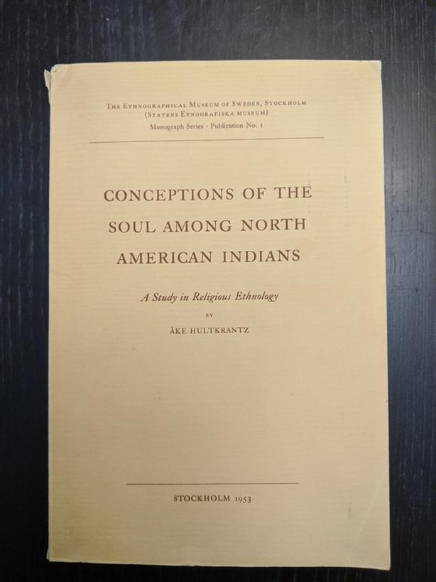 Conception of The Soul Among North American Indians Rare Book, Good condition)