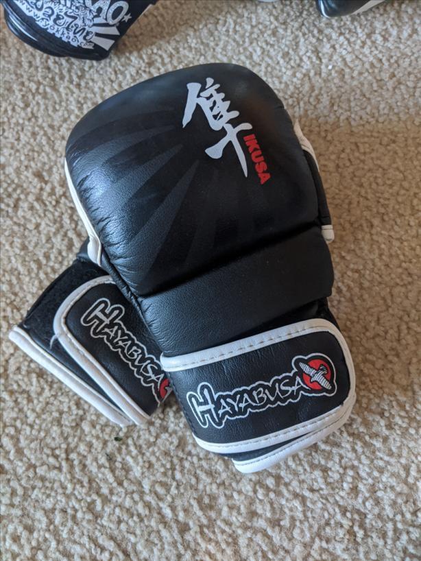 hayabusa 7 oz mma glove
