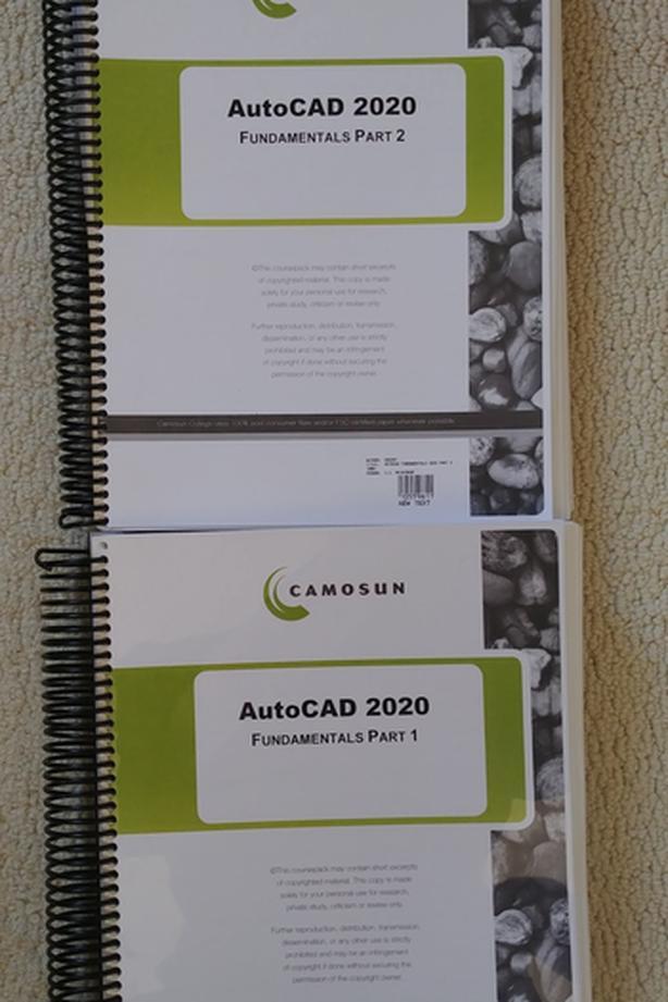 Camosun AutoCAD 2020 Fundementals