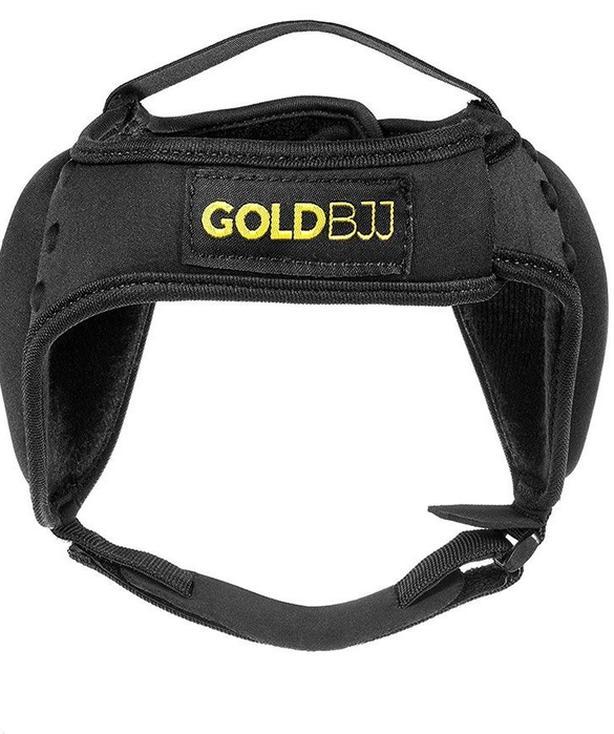 Gold BJJ Headgear/Ear Protectors (Brand New)
