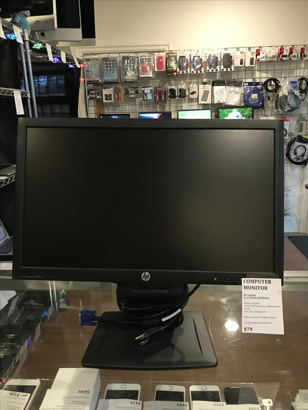 "21.5"" HP Compaq 1920 x 1080 Matte Screen Computer Monitor w/ Warranty!"