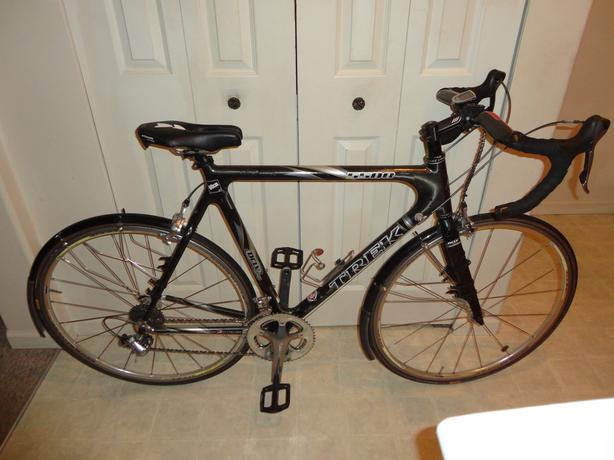 Mens Trek 5500 Road Bike - black, 60 cm frame